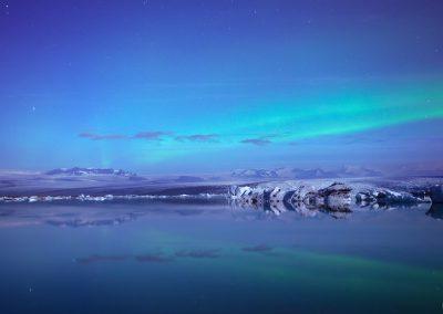 jokulsarlon-aurora